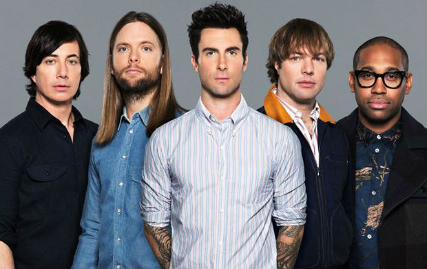 maroon 5, amy schumer, music news, sheets, chords, billboard, super bowl